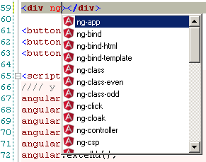 Autocomplete for AngularJS directives