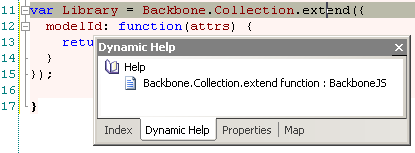 BackboneJS dynamic help